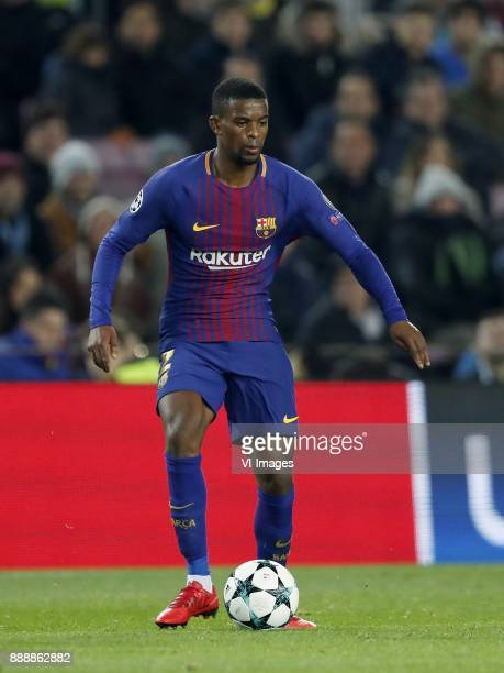Nelson Semedo of FC Barcelona during the UEFA Champions League group D match between FC Barcelona and Sporting Club de Portugal on December 05 2017...