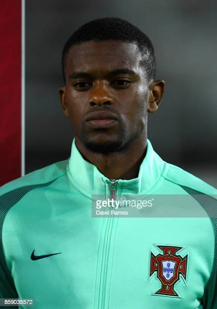 Nelson Semedo of Portugal looks on prior to the FIFA 2018 World Cup Qualifier between Andorra and Portugal at the Estadi Nacional on October 7 2017...