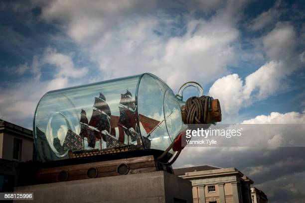 Nelson's Ship in a Bottle at National Maritime Museum