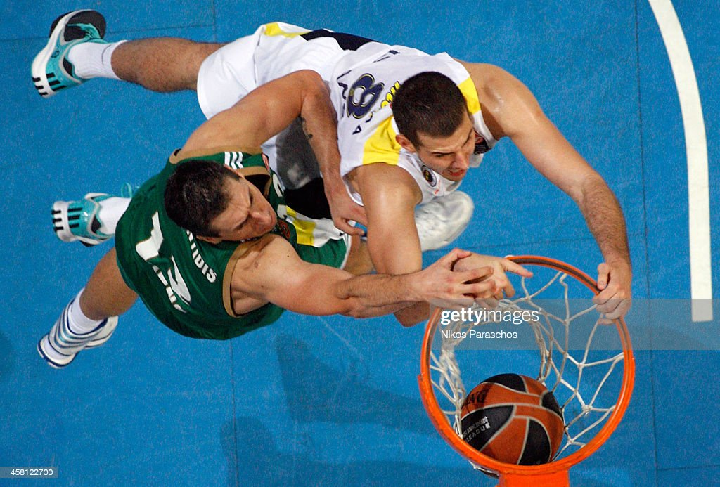 Panathinaikos Athens  v  Fenerbahce Ulker Istanbul  - Turkish Airlines Euroleague