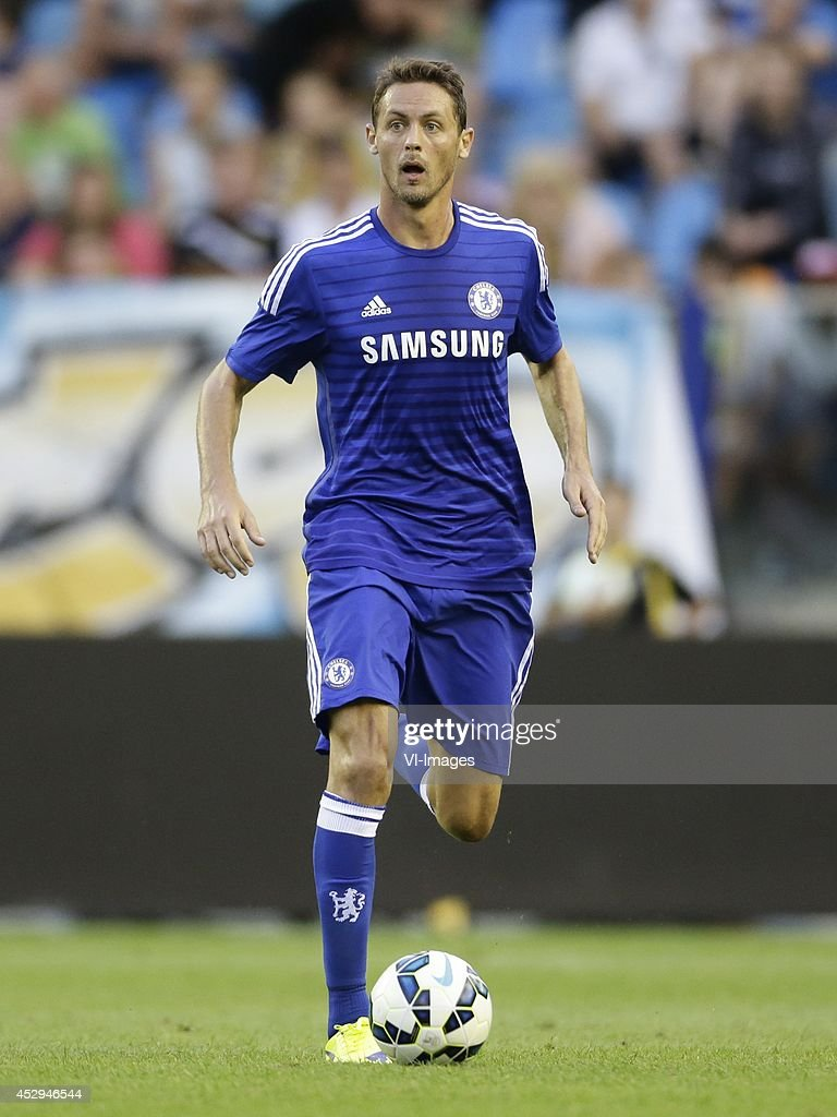 Nemanja Matic of Chelsea during the friendly match between Vitesse Arnhem and Chelsea at Gelredome on July 30, 2014 in Arnhem, The Netherlands