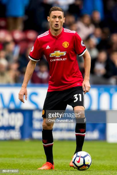 Nemanja Matic of Manchester United in action during the Premier League match between Huddersfield Town and Manchester United at John Smith's Stadium...