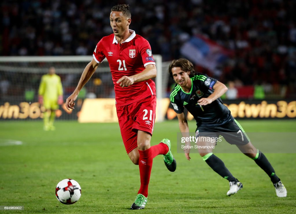 Serbia v Wales - FIFA 2018 World Cup Qualifier : News Photo