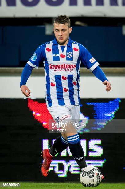 Nemanja Mihajlovic of sc Heerenveen during the Dutch Eredivisie match between sc Heerenveen and VVV Venlo at Abe Lenstra Stadium on December 09 2017...