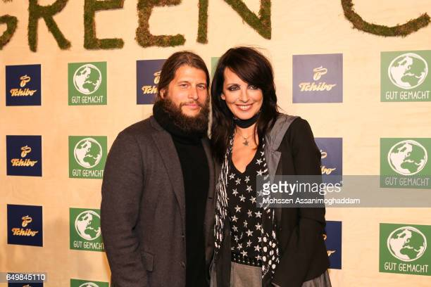 Nena and Philipp Palm attend the Green Carpet Event of Tchibo on March 8 2017 in Hamburg Germany