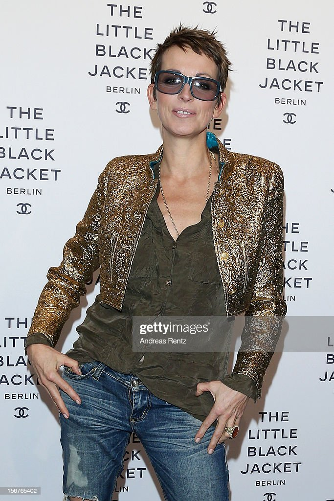 Nena attends CHANEL 'The Little Black Jacket' - Exhibition Opening by Karl Lagerfeld and Carine Roitfeld on November 20, 2012 in Berlin, Germany.