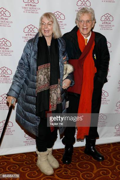 Nena Thurman and Robert AF Thurman attend the Tibet House US 30th Anniversary Gala Celebration at Gotham Hall on March 16 2017 in New York City