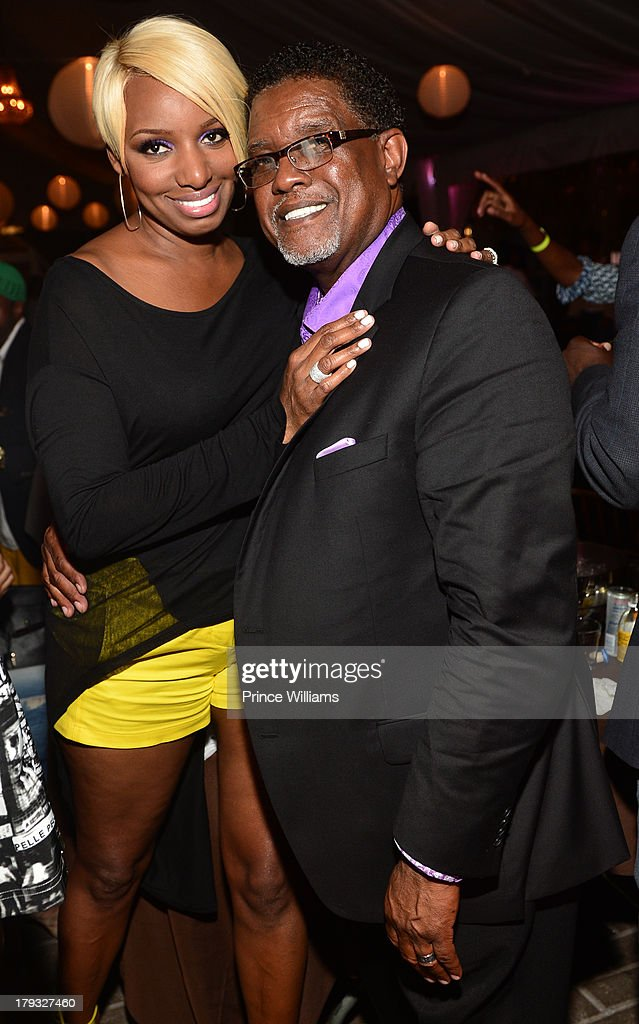 <a gi-track='captionPersonalityLinkClicked' href=/galleries/search?phrase=NeNe+Leakes&family=editorial&specificpeople=5446374 ng-click='$event.stopPropagation()'>NeNe Leakes</a> and Greg Leakes attend Platinum Edition Of ATL Live on the Park at Park Tavern on August 26, 2013 in Atlanta, Georgia.