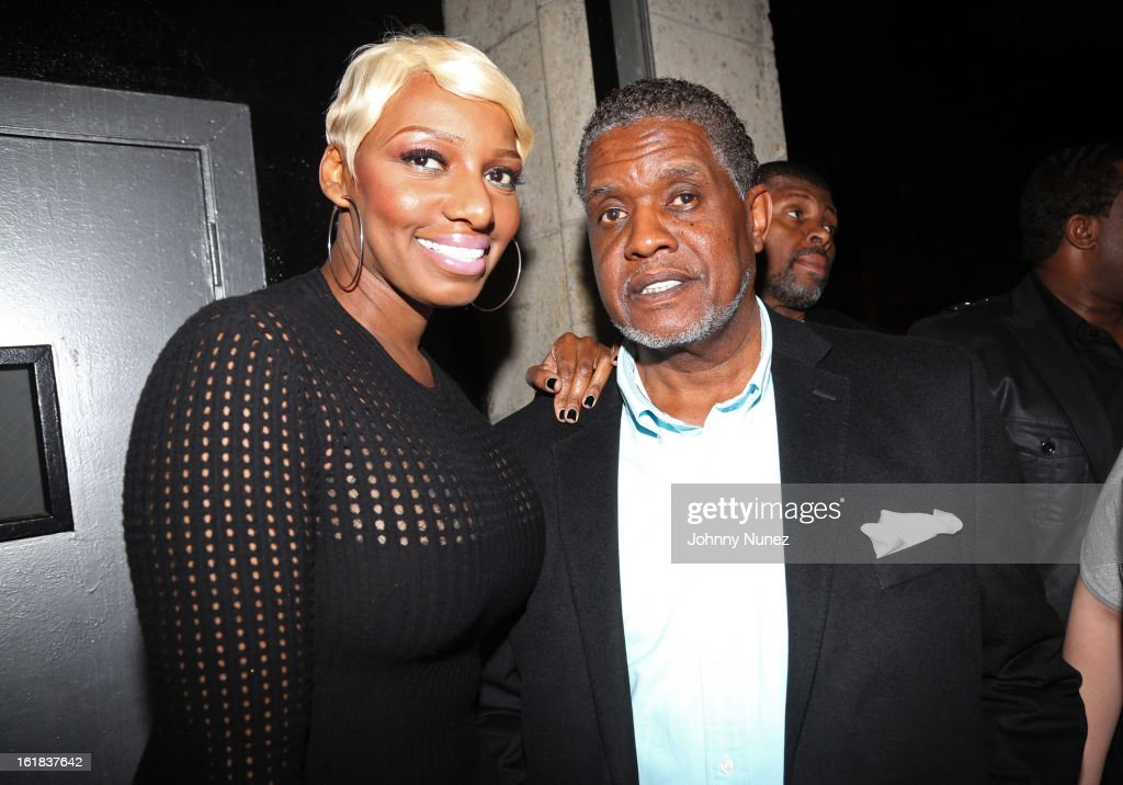 <a gi-track='captionPersonalityLinkClicked' href=/galleries/search?phrase=NeNe+Leakes&family=editorial&specificpeople=5446374 ng-click='$event.stopPropagation()'>NeNe Leakes</a> and Gregg Leakes attend the D'usse All-Star Weekend Party hosted By Jay-Z at Rich's on February 16, 2013, in Houston, Texas.