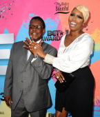 NeNe Leakes and husband Gregg Leakes attend Debra L Lee's 7th annual VIP pre BET dinner event at Milk Studios on June 29 2013 in Los Angeles...