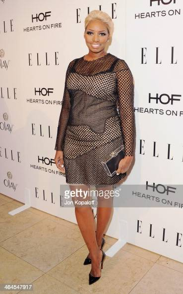 NeNe Leakes arrives at the ELLE Women In Television Celebration at Sunset Tower on January 22 2014 in West Hollywood California
