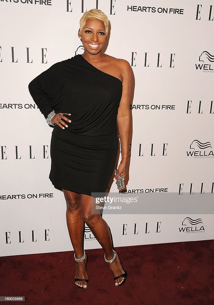 NeNe Leakes arrives at the ELLE's 2nd Annual Women In Television Celebratory Dinner at Soho House on January 24, 2013 in West Hollywood, California.