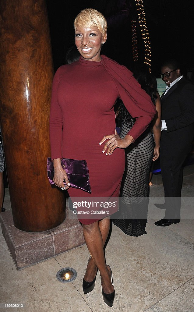 <a gi-track='captionPersonalityLinkClicked' href=/galleries/search?phrase=NeNe+Leakes&family=editorial&specificpeople=5446374 ng-click='$event.stopPropagation()'>NeNe Leakes</a> attends a Private Residence on December 31, 2011 in Miami Beach, Florida.