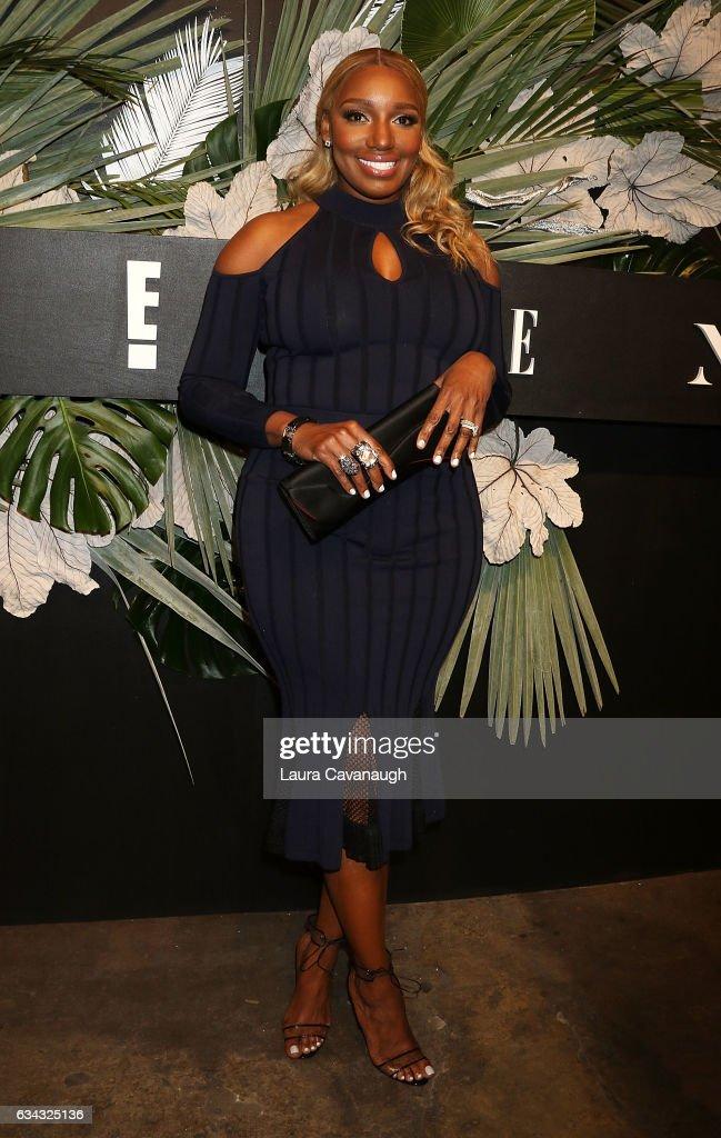 NeNe Leakes attends E!, ELLE & IMG Fashion Week Kick-Off on February 8, 2017 in New York City.