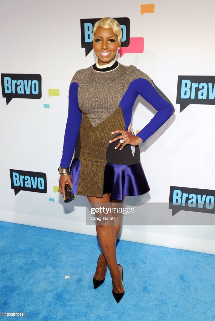 NeNe Leakes attends the 2013 Bravo New York Upfront at Pillars 37 Studios on April 3, 2013 in New York City.