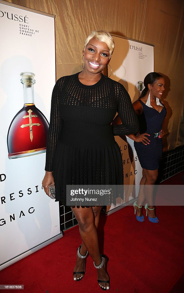 <a gi-track='captionPersonalityLinkClicked' href=/galleries/search?phrase=NeNe+Leakes&family=editorial&specificpeople=5446374 ng-click='$event.stopPropagation()'>NeNe Leakes</a> attends the D'usse All-Star Weekend Party hosted By Jay-Z at Rich's on February 16, 2013, in Houston, Texas.