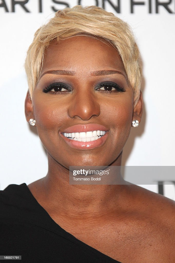 NeNe Leakes attends the ELLE Women in Television Celebration presented by Hearts on Fire Diamonds and Wella Professionals held at Soho House on January 24, 2013 in West Hollywood, California.