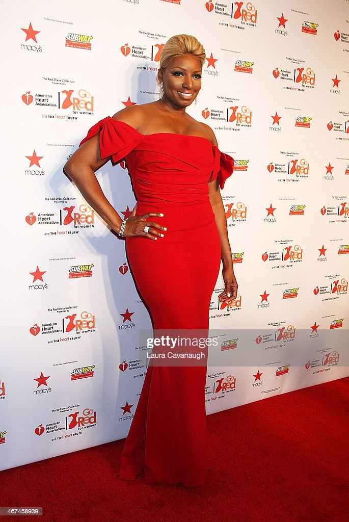 <a gi-track='captionPersonalityLinkClicked' href=/galleries/search?phrase=NeNe+Leakes&family=editorial&specificpeople=5446374 ng-click='$event.stopPropagation()'>NeNe Leakes</a> attends The Red Dress Fashion Show during Fall 2014 Mercedes - Benz Fashion week on February 6, 2014 in New York City.