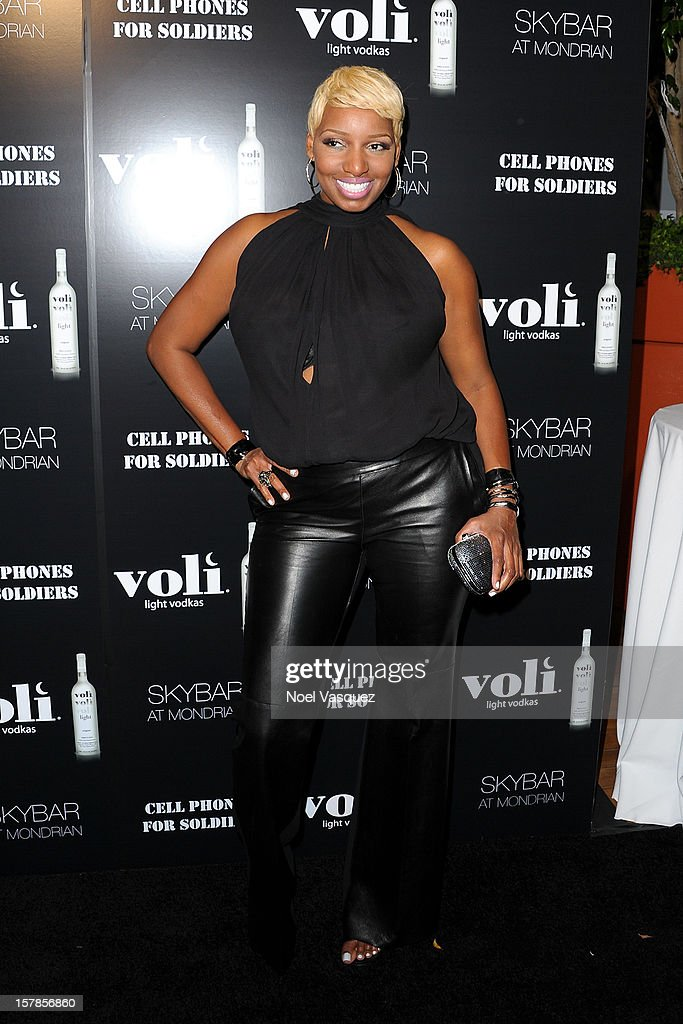 Nene Leakes attends the Voli Lights Vodka benefit at SkyBar at the Mondrian Los Angeles on December 6, 2012 in West Hollywood, California.