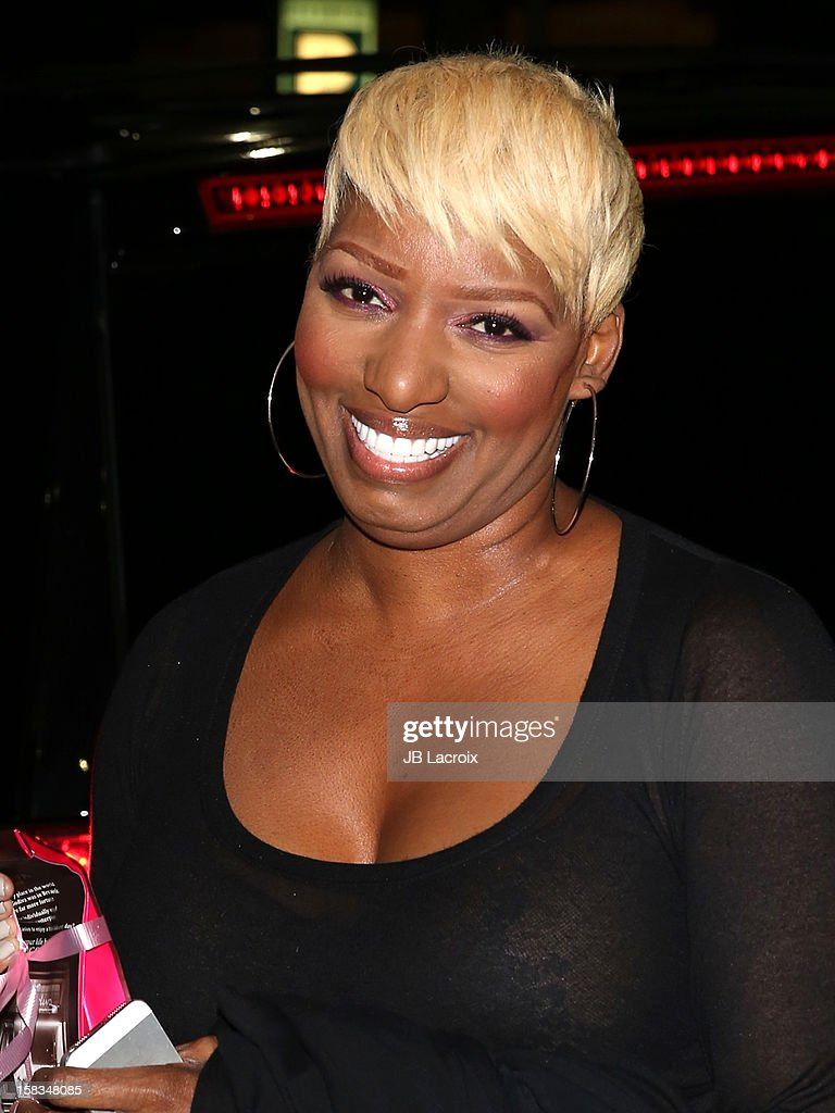 Nene Leakes celebrates her birthday at Crustacean restaurant in Beverly Hills on December 13, 2012 in Los Angeles, California.