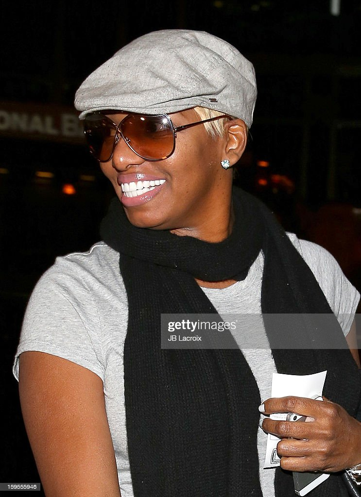 NeNe Leakes is seen at Boa restaurant on January 15, 2013 in Los Angeles, California.