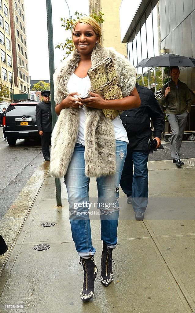 <a gi-track='captionPersonalityLinkClicked' href=/galleries/search?phrase=NeNe+Leakes&family=editorial&specificpeople=5446374 ng-click='$event.stopPropagation()'>NeNe Leakes</a> is seen in Soho on November 7, 2013 in New York City.