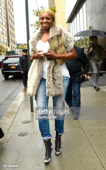 NeNe Leakes is seen in Soho on November 7 2013 in New York City