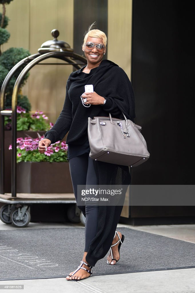 NeNe Leakes is seen on May 16 2014 in New York City