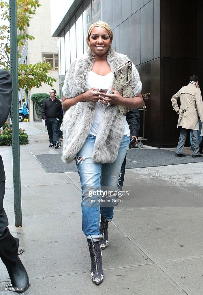 <a gi-track='captionPersonalityLinkClicked' href=/galleries/search?phrase=NeNe+Leakes&family=editorial&specificpeople=5446374 ng-click='$event.stopPropagation()'>NeNe Leakes</a> is seen on November 07, 2013 in New York City.