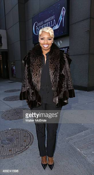 NeNe Leakes joins Broadway's 'Cinderella' photo call at the Broadway Theatre on November 19 2014 in New York City