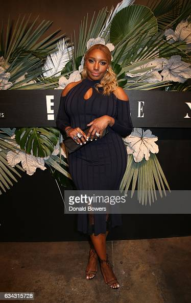 NeNe Leakes of Fashion Police attends E ELLE IMG celebration to kickoff NYFW The Shows on February 8 2017 in New York City
