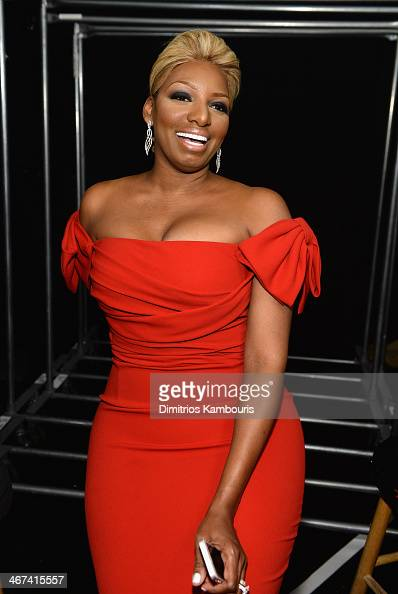NeNe Leakes poses backstage at Go Red For Women The Heart Truth Red Dress Collection 2014 Show Made Possible By Macy's And SUBWAY Restaurants at The...