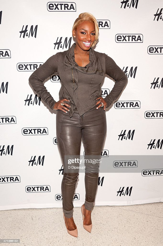 NeNe Leakes visits 'Extra' at their New York studios at HM in Times Square on April 27 2015 in New York City