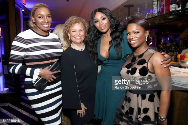 NeNe Leaks Debra L Lee Cynthia Bailey and Kandi Burruss attend Pre ABFF Honors Cocktail Party hosted by Debra L Lee Jeff Friday at Cecconi's on...