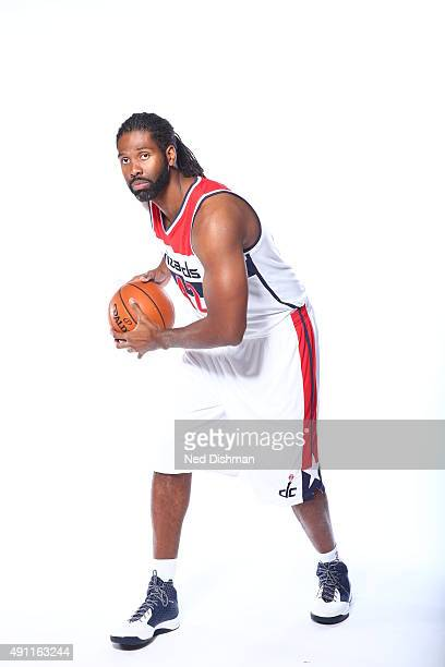 Nene of the Washington Wizards poses for a photo during media day on September 28 2015 at the Verizon Center in Washington DC NOTE TO USER User...