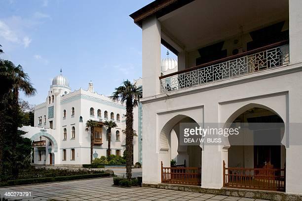 NeoMoorish style Dulber palace 18951897 designed by Nicolai Petrovich Krasnov Alupka near Yalta Crimea Ukraine