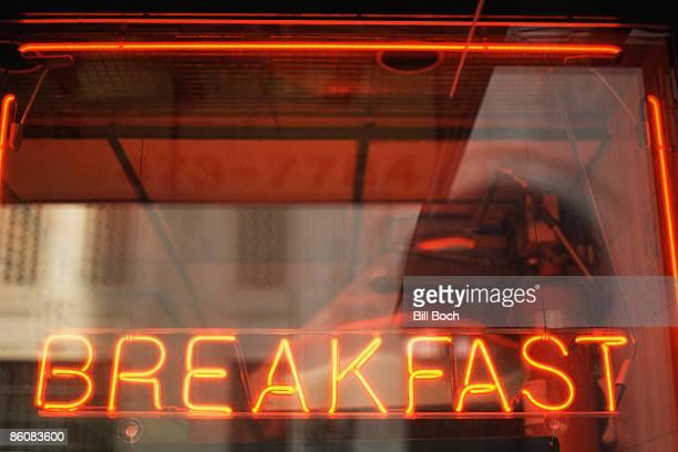 Neon Breakfast Sign