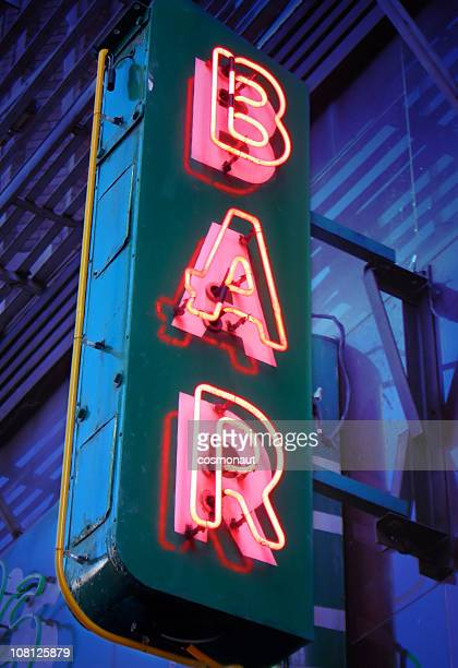 Neon Insegna commerciale per Bar