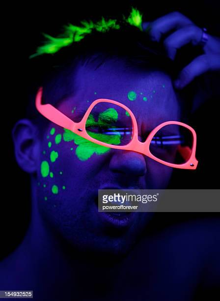 Neon Contemplation
