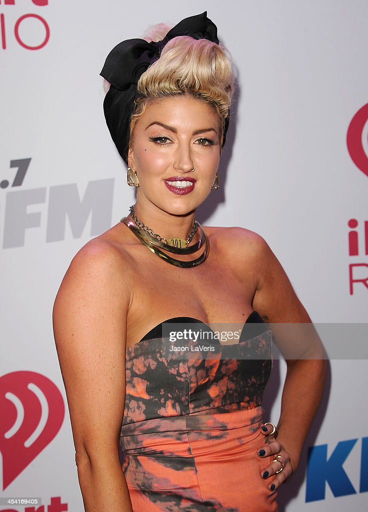 Neon Hitch attends KIIS FM's Jingle Ball at Staples Center on December 6, 2013 in Los Angeles, California.