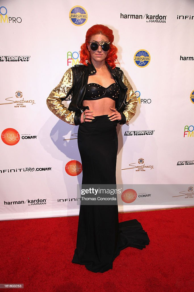 <a gi-track='captionPersonalityLinkClicked' href=/galleries/search?phrase=Neon+Hitch&family=editorial&specificpeople=6718170 ng-click='$event.stopPropagation()'>Neon Hitch</a> attends the Ashton Michael Fashion Show At CONAIR STYLE360 at STYLE360 presented by Conair Fashion Pavilion on February 12, 2013 in New York City.