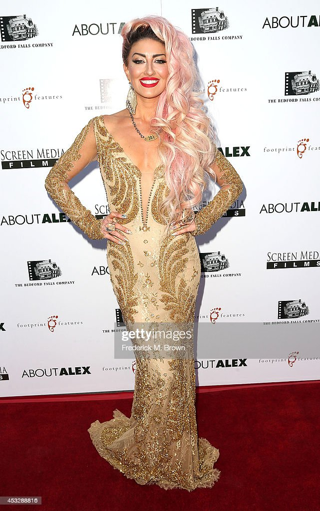 Neon Hitch attends the Premiere of 'About Alex' at the ArcLight Hollywood on August 6, 2014 in Hollywood, California.