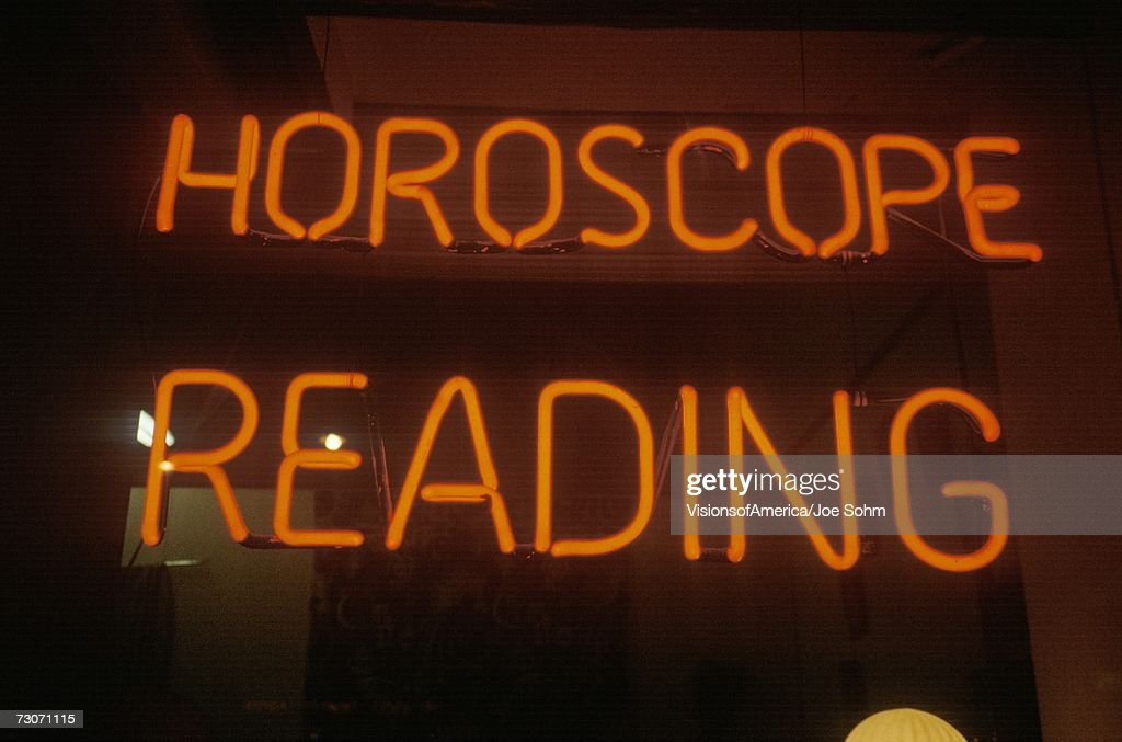 'Neon Horoscope Reading sign in Los Angeles, CA'
