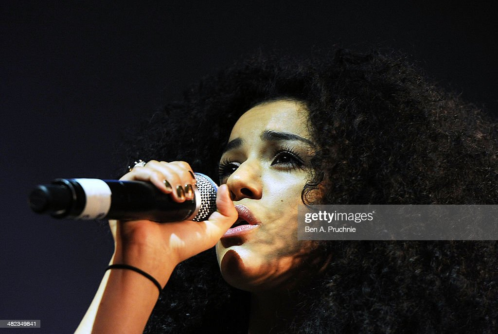 Neon Jungle perform at the Microsoft Wrap Party on day four of Advertising Week Europe held at KOKO on April 3, 2014 in London, England.