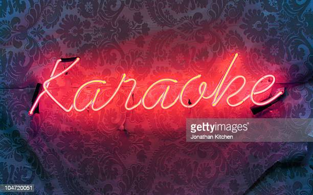 Neon Karaoke Sign