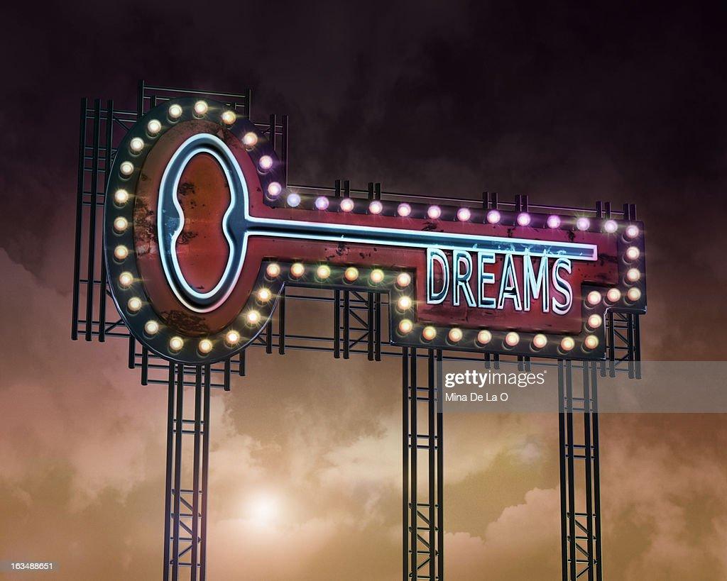 neon key Dreams