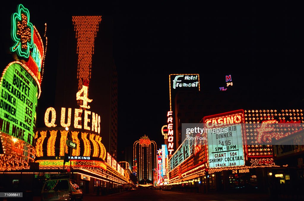 neon signs, Las Vegas : Stock Photo