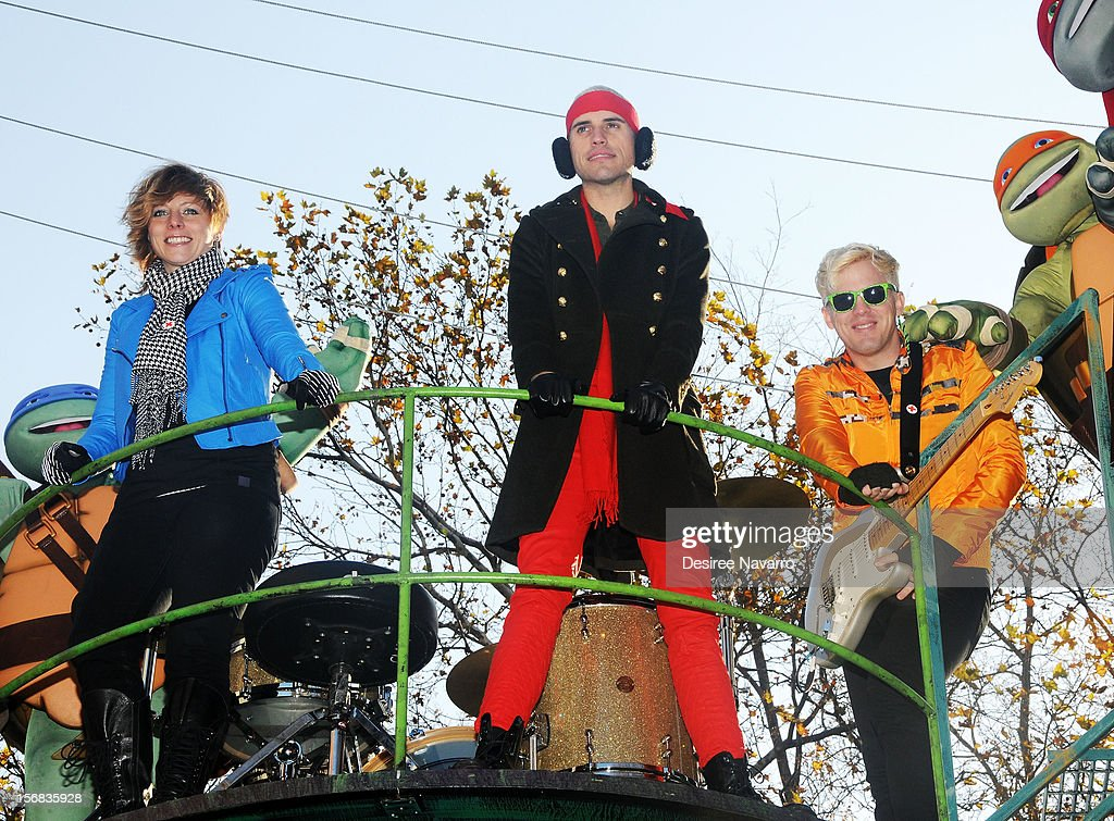 Neon Trees attend 86th Annual Macy's Thanksgiving Day Parade on November 22, 2012 in New York City.