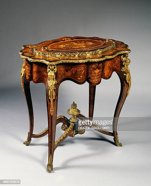 NeoRococo style jardiniere with gilt bronze decoration Italy 19th century