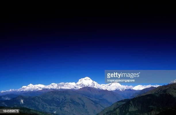 Nepal, Gandaki zone, Annapurna region, Dhaulagiri.
